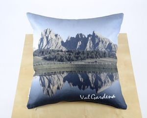 "Pillow  Dolomiti - ""Saslong"" summer"