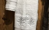In the forest- hand towel