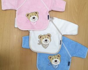 "bib with sleeves ""bear"""