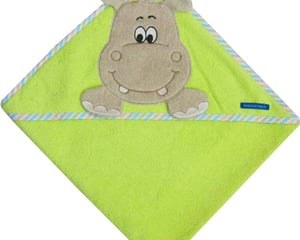 "hooded towel ""hippo"""