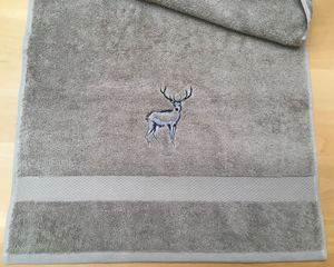 Deer - shower-towel