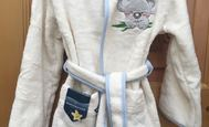 Koala blue - children's bathrobe