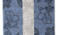 "Noblesse ""interior""- shower towel ""jacquard"""