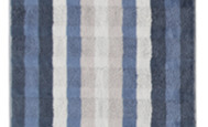 "Noblesse ""interior - stripes""- shower towel ""jacquard"""
