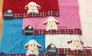 Sleepy Sheepy guest towel