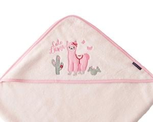 Lama hooded towel