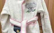 Koala pink - children's bathrobe