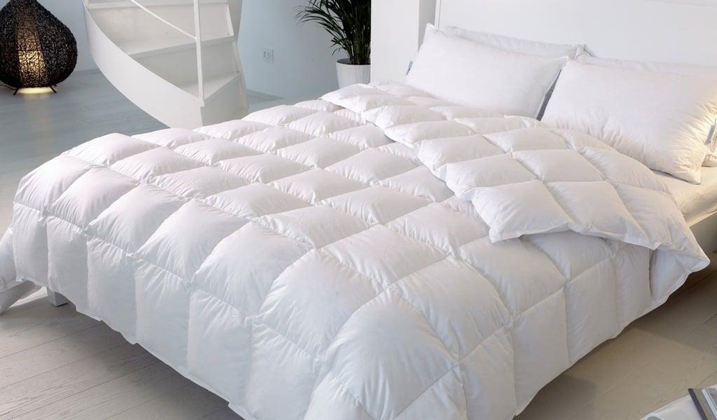 Piumini da letto piumini daunenstep d600 imbottitura 100 - Grandezza letto matrimoniale ...