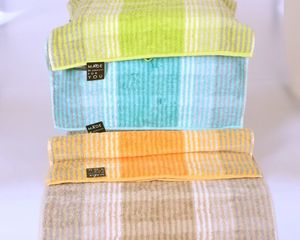 "Noblesse Cashmere - shower towel ""stripes"""